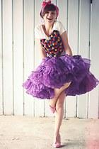 amethyst vintage skirt