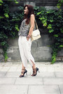 Black-jean-paul-gaultier-x-melissa-shoes-cream-vintage-bag