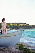 light pink Zara dress