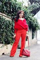 red Sheinside sweater