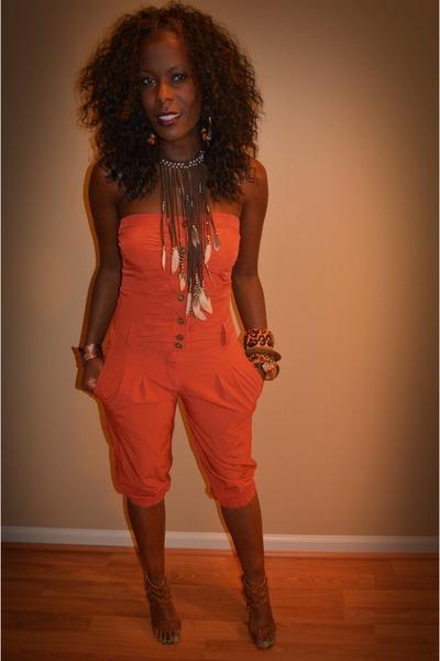 carrot orange thrift jumper