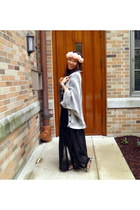 Forever 21 cardigan - maxi Forever 21 skirt - floral crown H&M hair accessory
