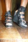 Silver-h-m-t-shirt-pink-h-m-skirt-black-jeffrey-campbell-shoes
