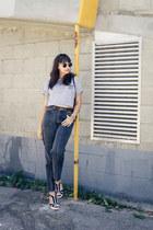 vintage jeans - backpack rabeanco bag - penelopes vintage sunglasses