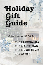 Holiday Gift Guide: Gifts Under $100