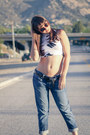 Crop-top-motel-rocks-top-transparent-shoedazzle-shoes