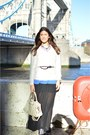 Heather-gray-balenciaga-bag-black-converse-sneakers-blue-h-m-t-shirt