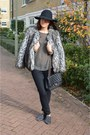 Heather-gray-faux-fur-coat-topshop-coat-black-7-for-all-mankind-jeans