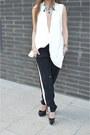 Zara-vest-christian-louboutin-pumps-black-pants-primark-pants