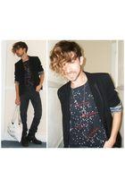 black M&S blazer