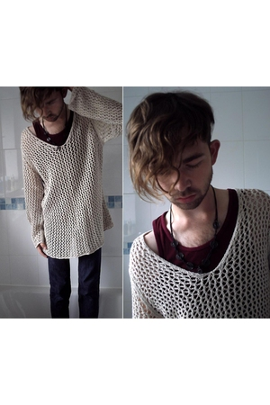 H&M top - Topman vest - Levis pants