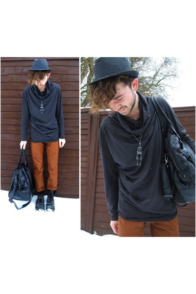 rust Topman pants