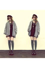Black-dorothy-perkins-dress-heather-gray-vintage-from-ebay-coat