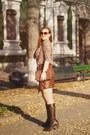 Dark-brown-orsay-bag-dark-brown-topshop-sunglasses