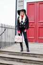 Black-primark-boots-black-topshop-jeans-black-floppy-60s-hat-topshop-hat