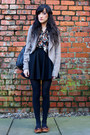 Dark-gray-accessorize-bag-black-miss-selfridge-skirt
