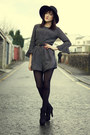 Black-miss-selfridge-boots-black-black-60s-hat-miss-selfridge-hat