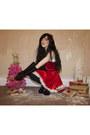 Ruby-red-christmas-dress-diy-dress