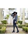 Black-new-look-boots-black-miss-selfridge-jeans-black-topshop-hat