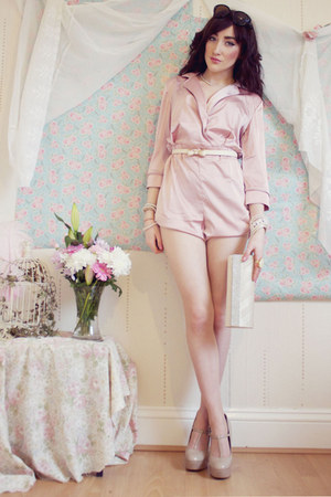 light pink Miss Guided romper