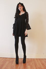 Black-oasap-dress