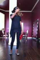 black Target shoes - black Victorias Secret shirt - black jason maxwell Ross car