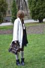 Off-white-sara-kelly-by-ellos-coat-dark-brown-zara-bag