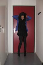 Zara blazer - H&M dress - H&M shoes