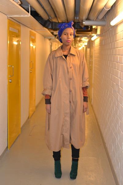 trench vintage coat