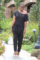 Zara heels - Gucci bag - Zara pants - calvin klein t-shirt
