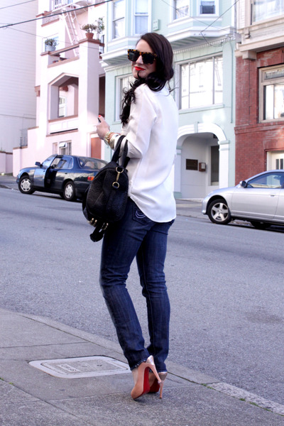rock and republic jeans - Elizabeth and James shirt - Alexander Wang bag - Karen