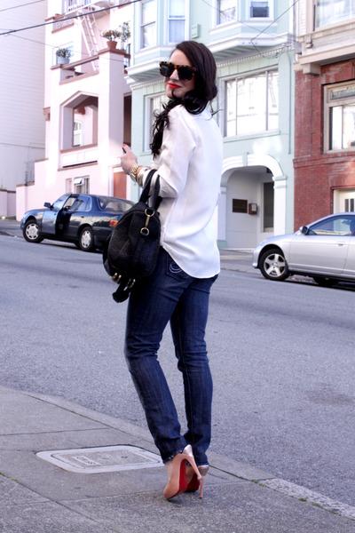 rock and republic jeans - Elizabeth and James shirt - Alexander Wang bag - Karen