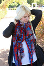 Dark-brown-dsw-boots-blue-gap-jeans-red-target-scarf-black-coach-bag