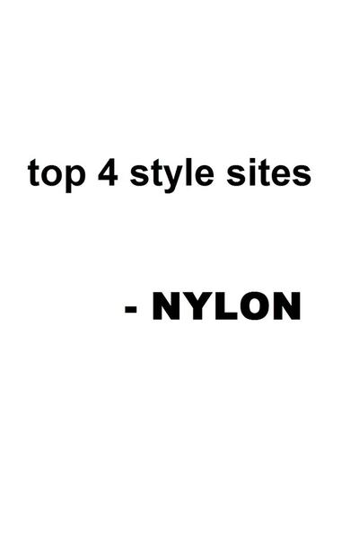 Nylon loves chictopia