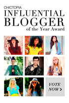 CHICTOPIA Influential Blogger of the Year Award!