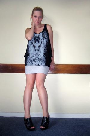 Topshop top - H&M skirt - asos shoes