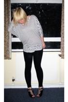 H&M top - dont know leggings - asos shoes