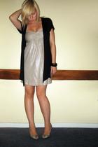 warehouse dress - Primark vest - Office shoes - H&M bracelet