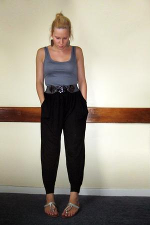 Primark top - Primark pants - dont know belt - some market shoes - Camden Market