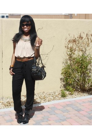 Juicy Couture bag - Michael Kors sunglasses - Forever 21 pants