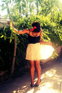 Eggshell-forever-21-skirt-black-thrift-store-pumps-black-thrift-store-blouse