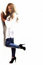 Black-cut-out-graceland-boots-navy-h-m-leggings-white-tunic-asos-top-state