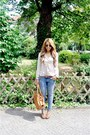 Blue-h-m-jeans-tawny-miu-miu-bag-brown-new-look-wedges-off-white-vero-moda