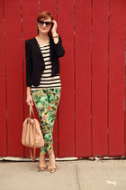 Zara pants - Forever 21 blazer - H&M blouse