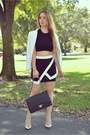 Guess-blazer-chanel-bag-hot-miami-styles-skirt