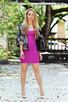 Hot Miami Styles dress - Giuseppe Zanotti pumps - Darling Clothes cardigan