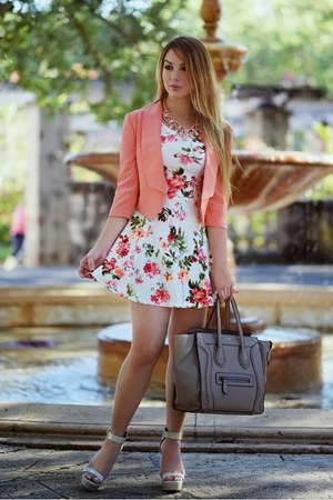 Modaxpress dress - Hot Miami Styles blazer - Celine bag