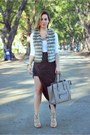 Zara vest - Celine bag - Hot Miami Styles skirt