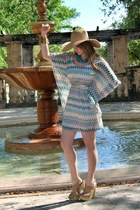 lola hat - Missoni dress - Chic Fashion Style heels