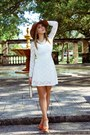American-apparel-dress-handmade-hat-steve-madden-sandals